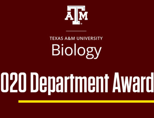 Department of Biology Awards 2020
